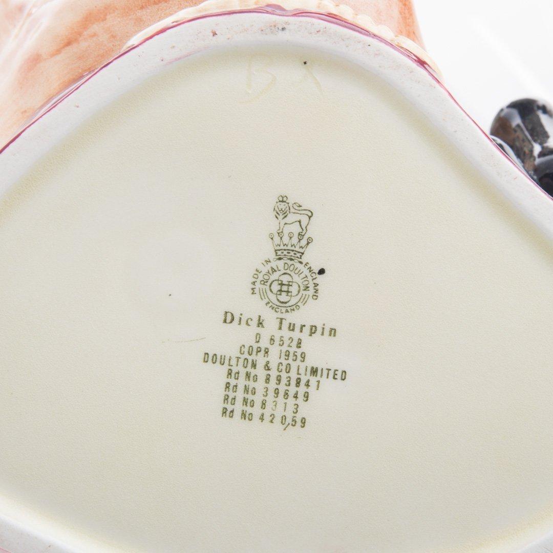 Six Royal Doulton china character jugs - 3