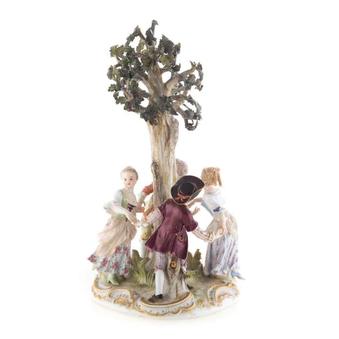 Meissen porcelain figural group - 2