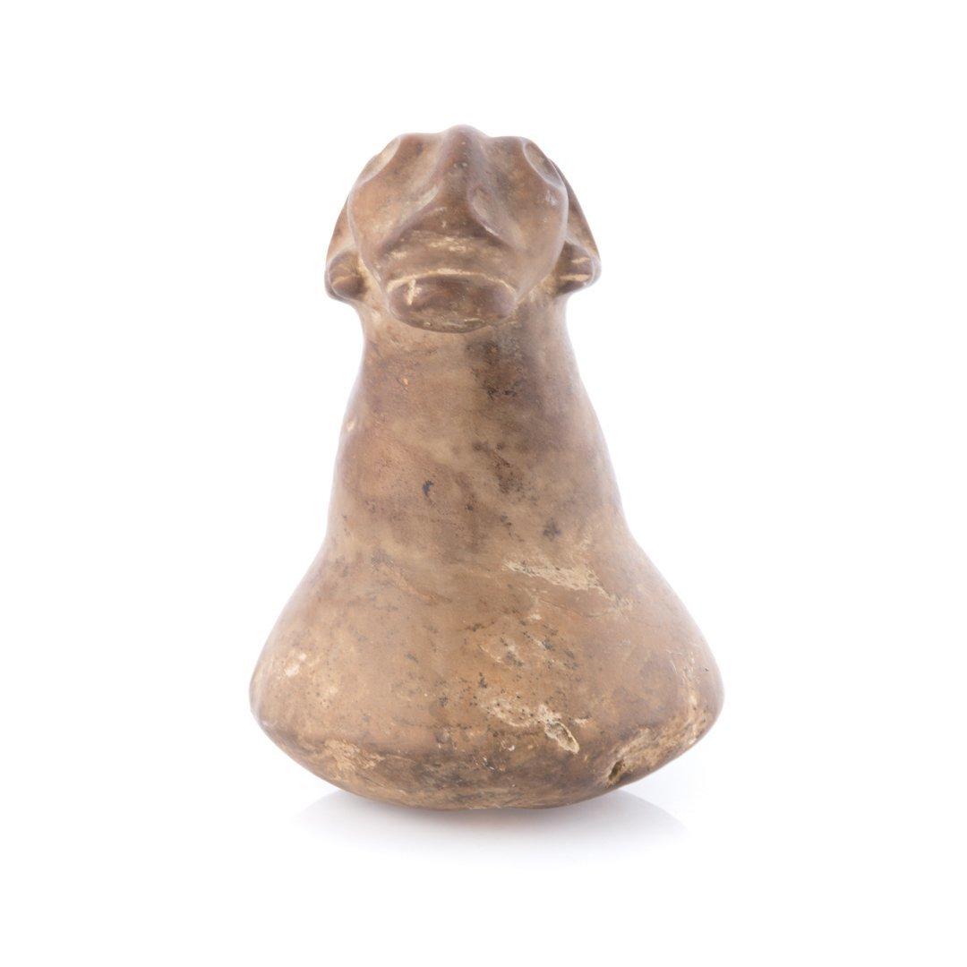 Pre-Columbian Taino stone carving, Hispaniola