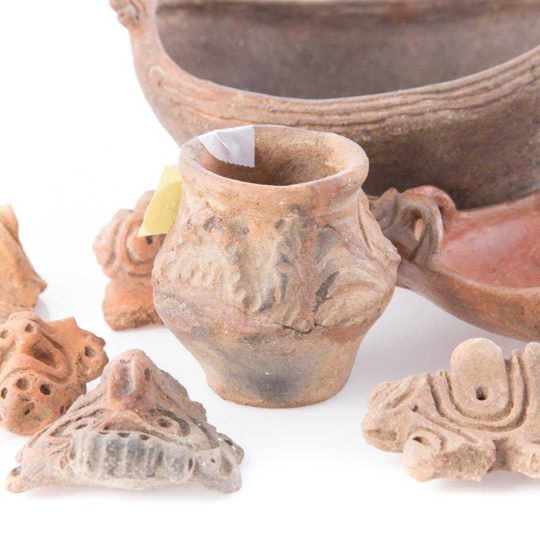 Three Pre-Columbian Taino ceramic objects - 3