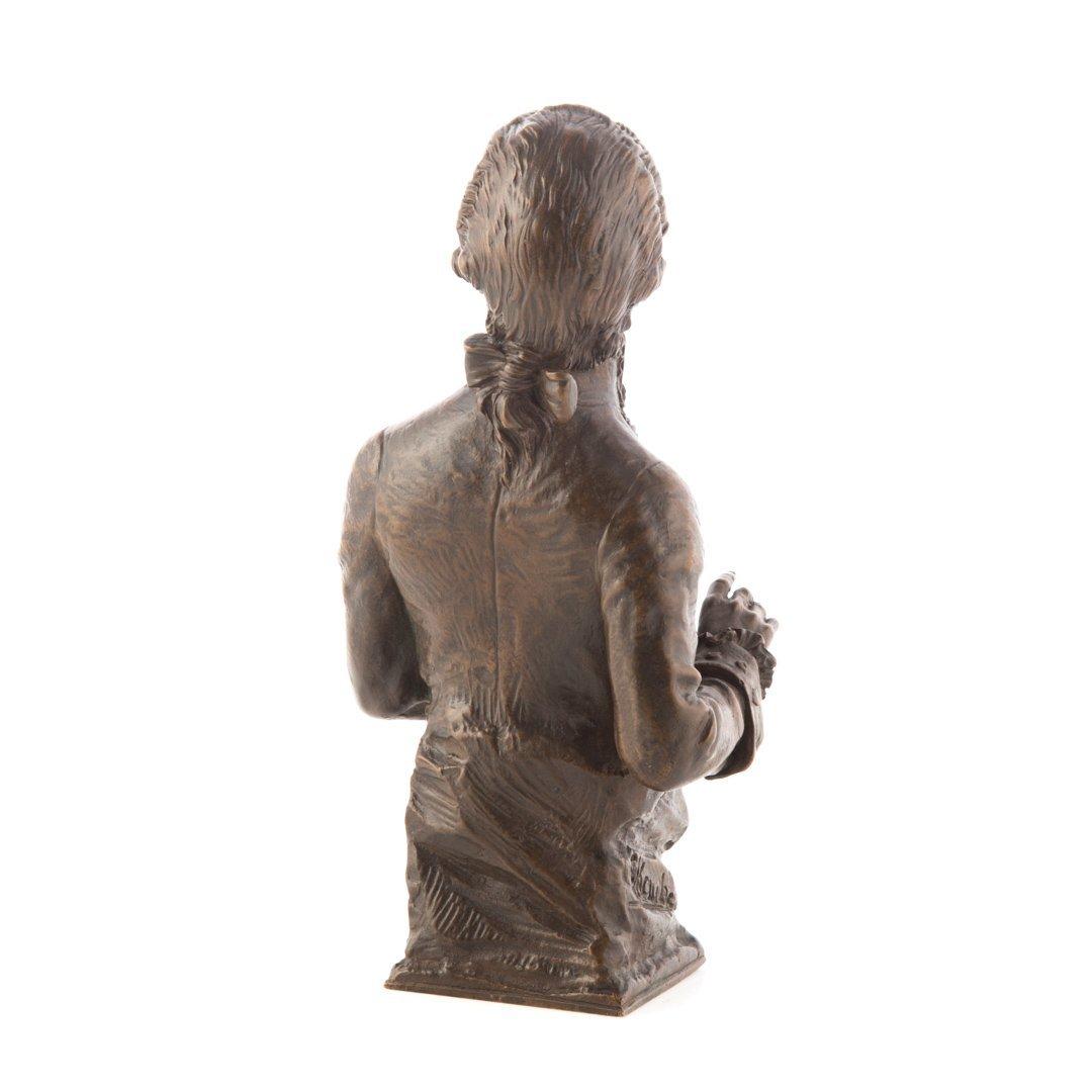 Carl Kauba. Mozart bronze sculpture - 3