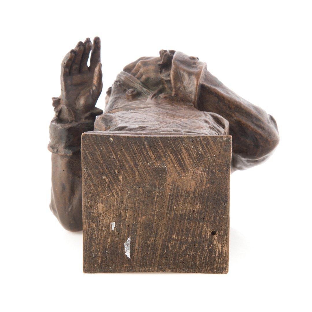 Carl Kauba. Mozart bronze sculpture - 5