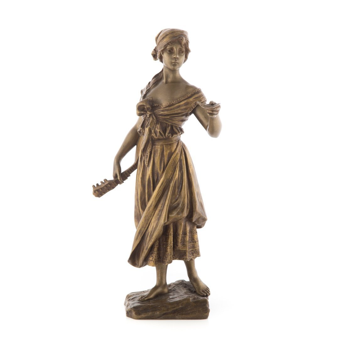 Emmanuel Villanis. French bronze figure