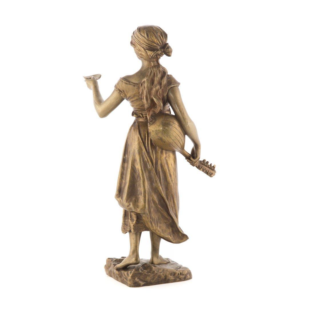 Emmanuel Villanis. French bronze figure - 2