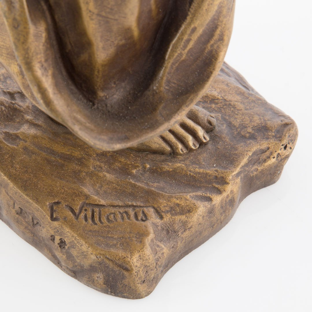 Emmanuel Villanis. French bronze figure - 3