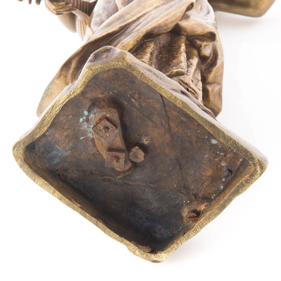 Emmanuel Villanis. French bronze figure - 4