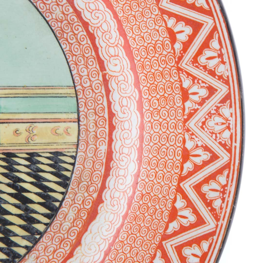 Wedgwood aesthetic china Geisha plate - 3