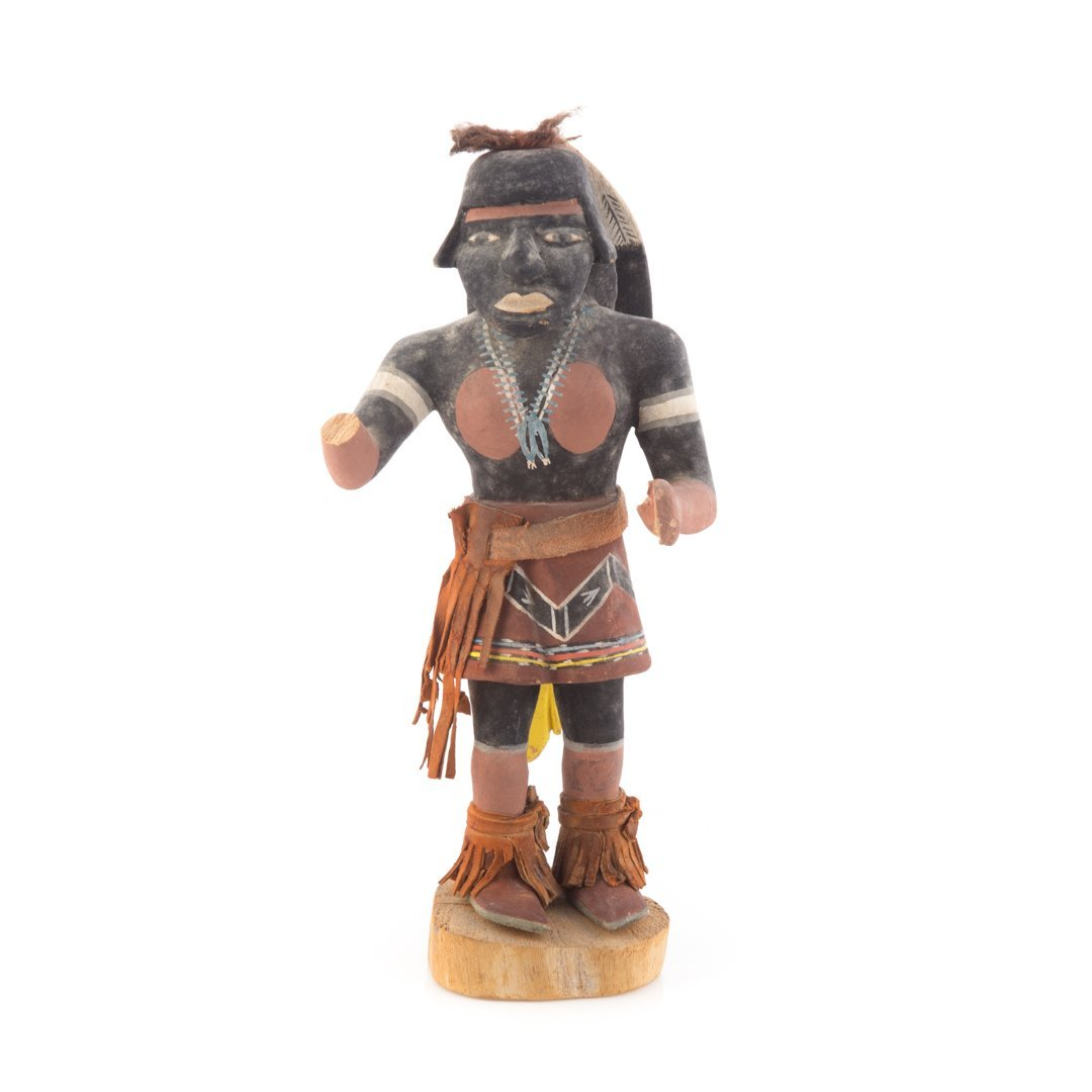 Native American carved cottonwood Kachina