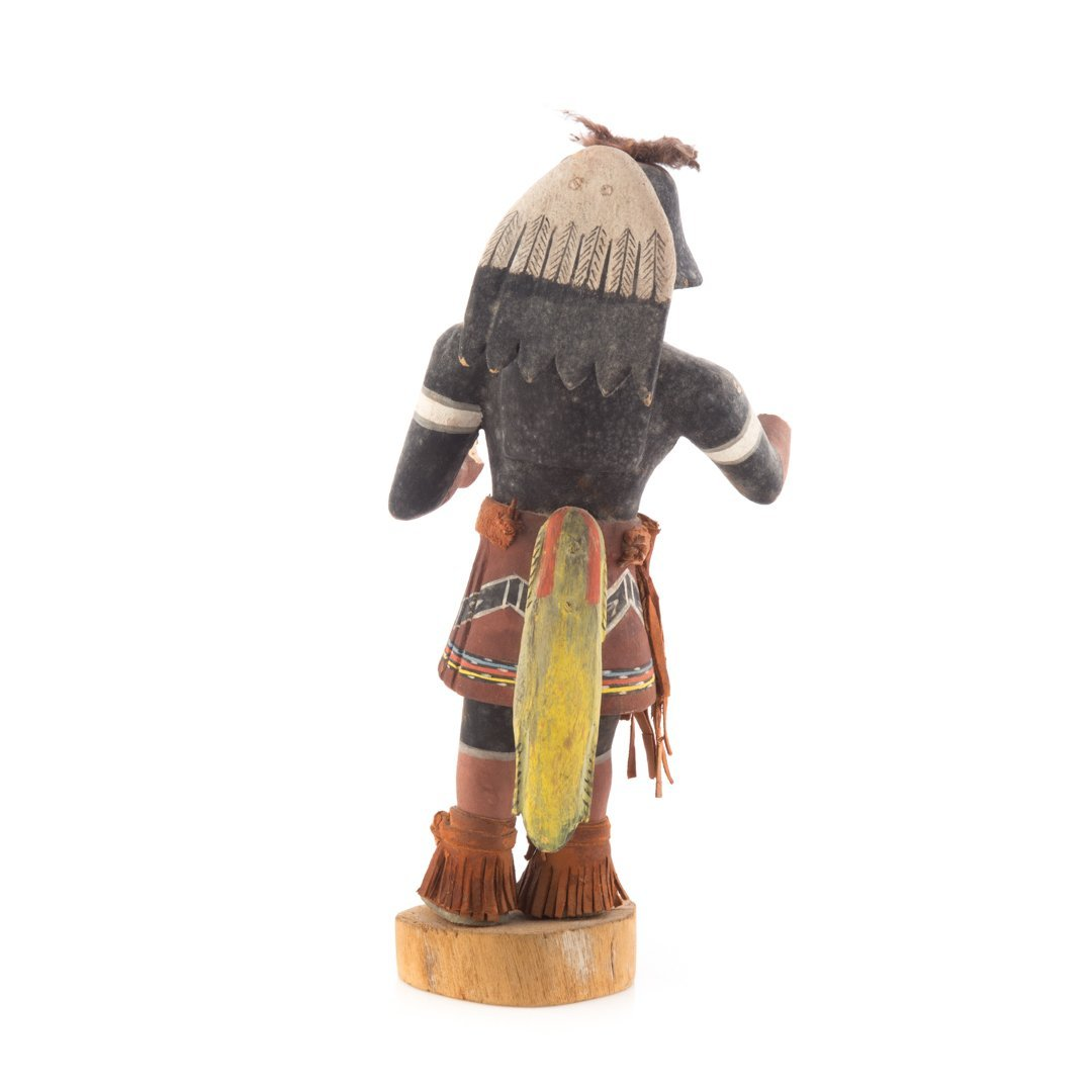 Native American carved cottonwood Kachina - 2
