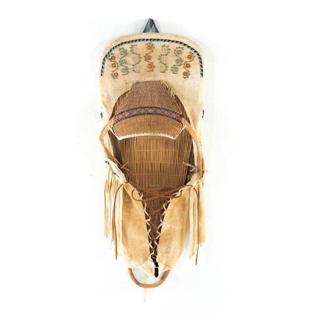 Paiute Indian cradle board
