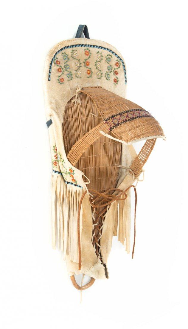Paiute Indian cradle board - 2