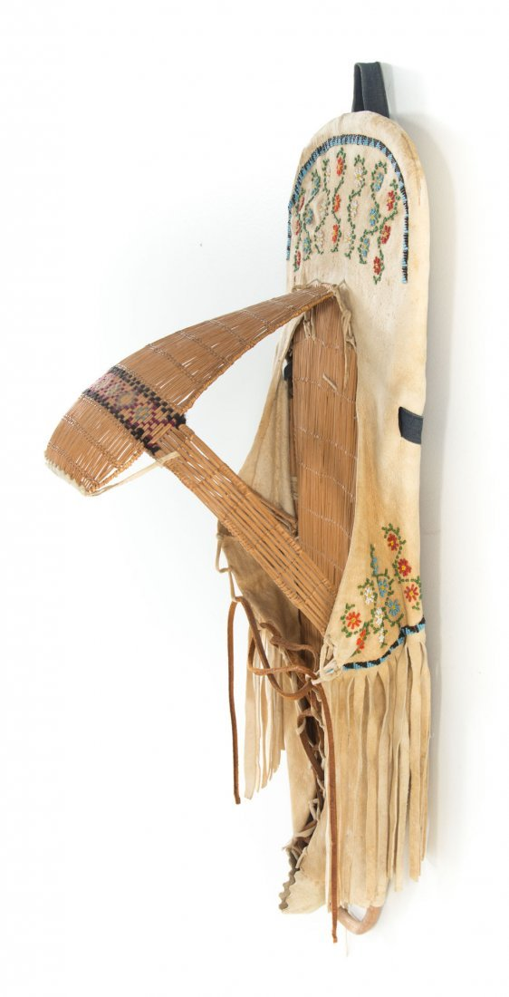 Paiute Indian cradle board - 3