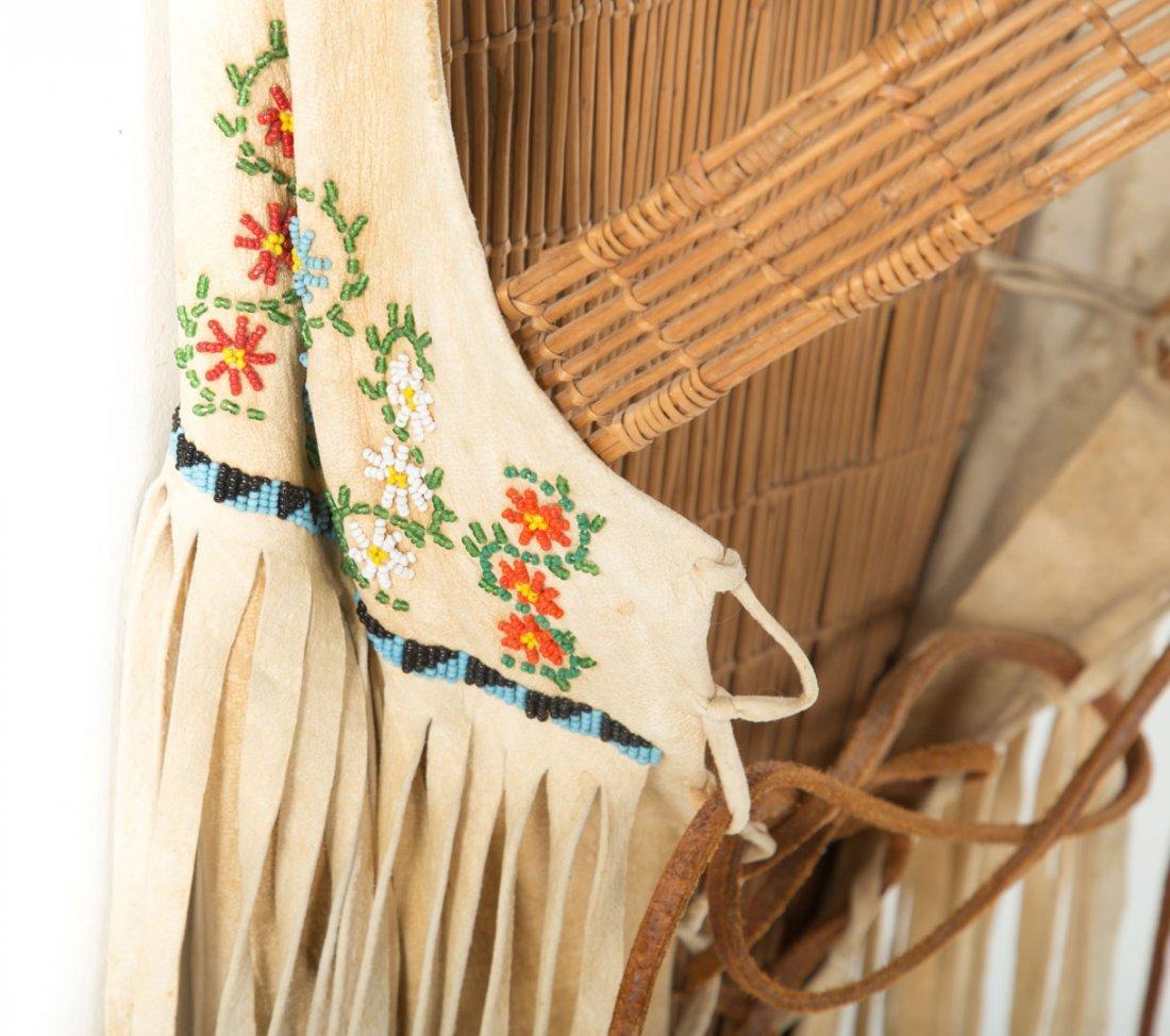 Paiute Indian cradle board - 5