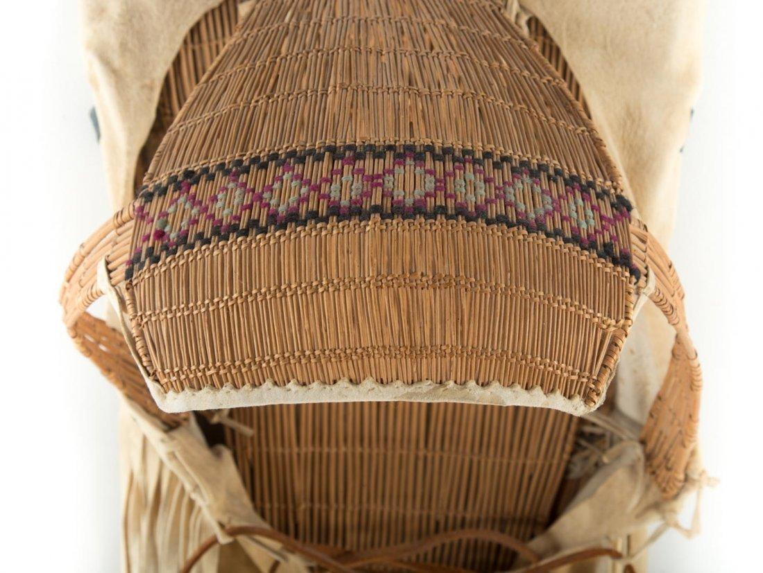 Paiute Indian cradle board - 6