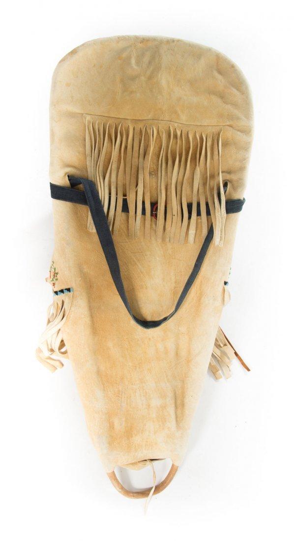 Paiute Indian cradle board - 7