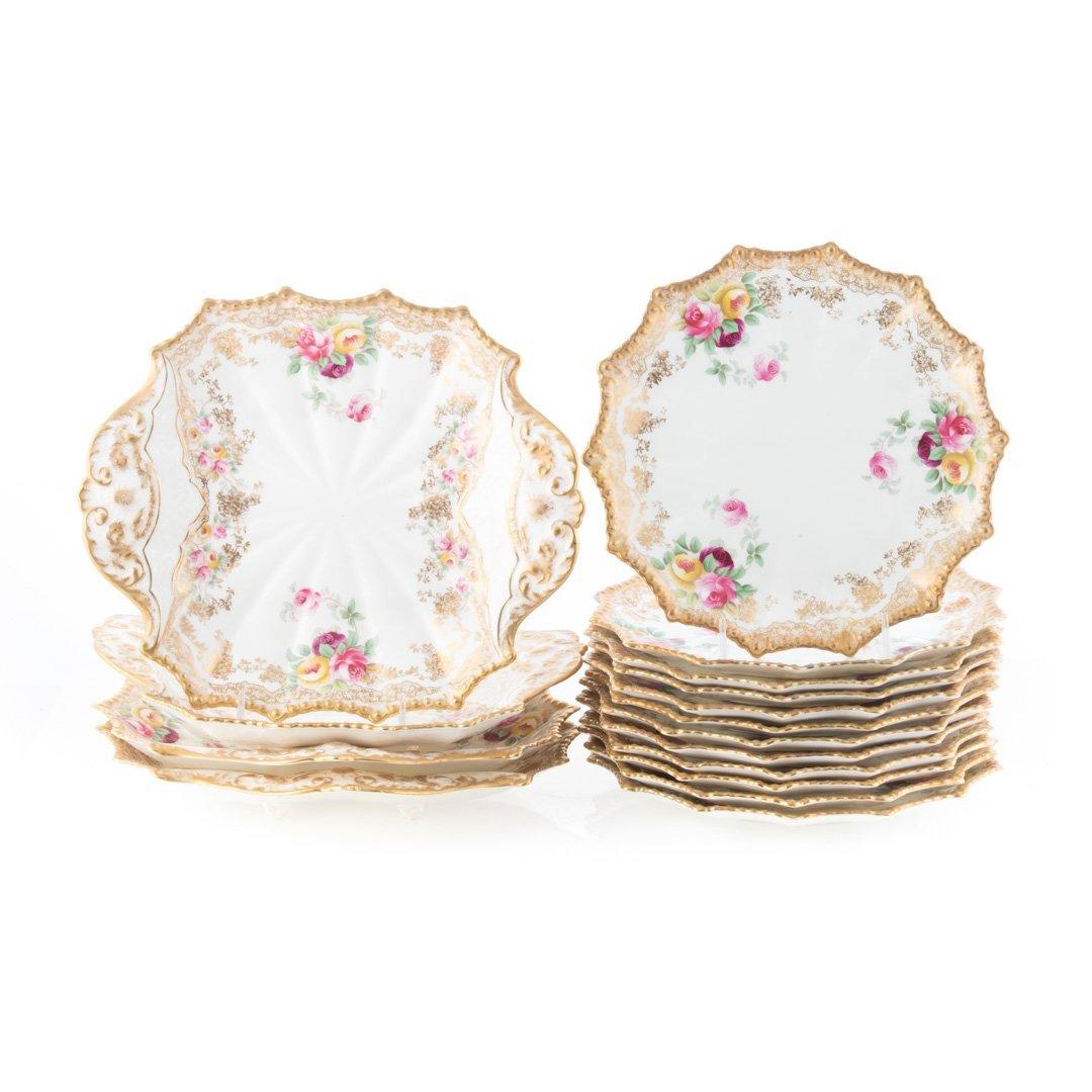 16-piece Aynsley china dessert service