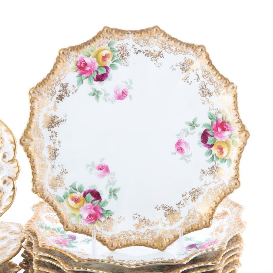 16-piece Aynsley china dessert service - 2