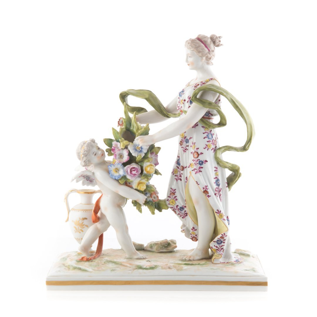 French porcelain mythological group