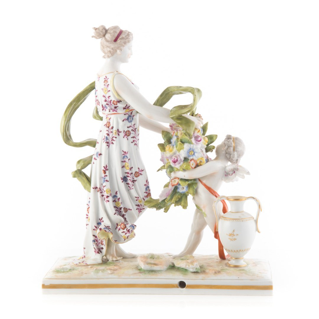 French porcelain mythological group - 2