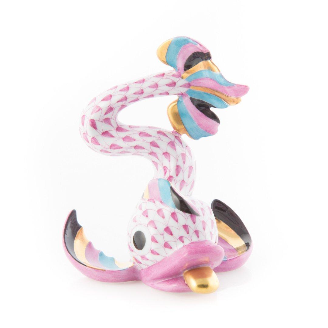 Herend porcelain Aldine dolphin