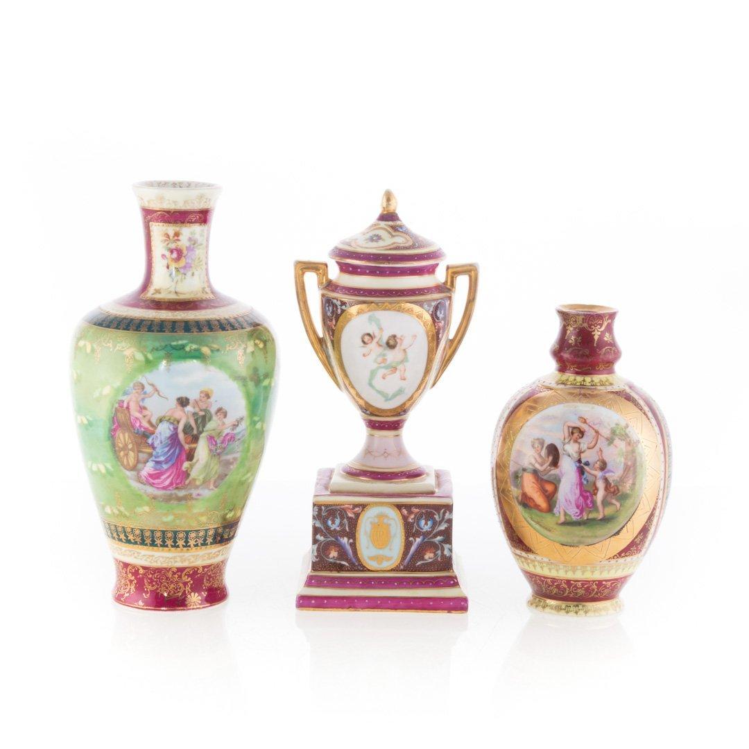 Five Vienna porcelain articles - 4