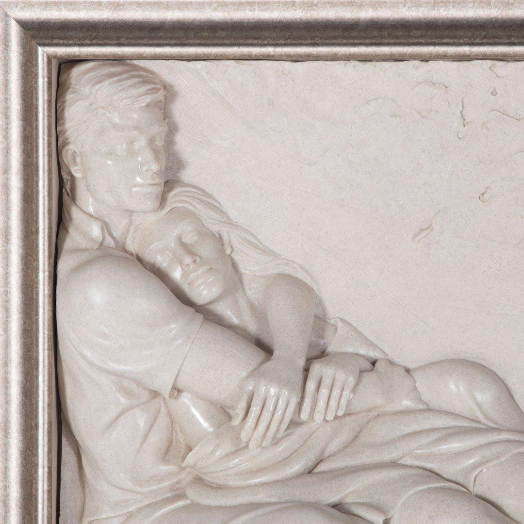 Bill Mack. Together, bonded sand relief sculpture - 2