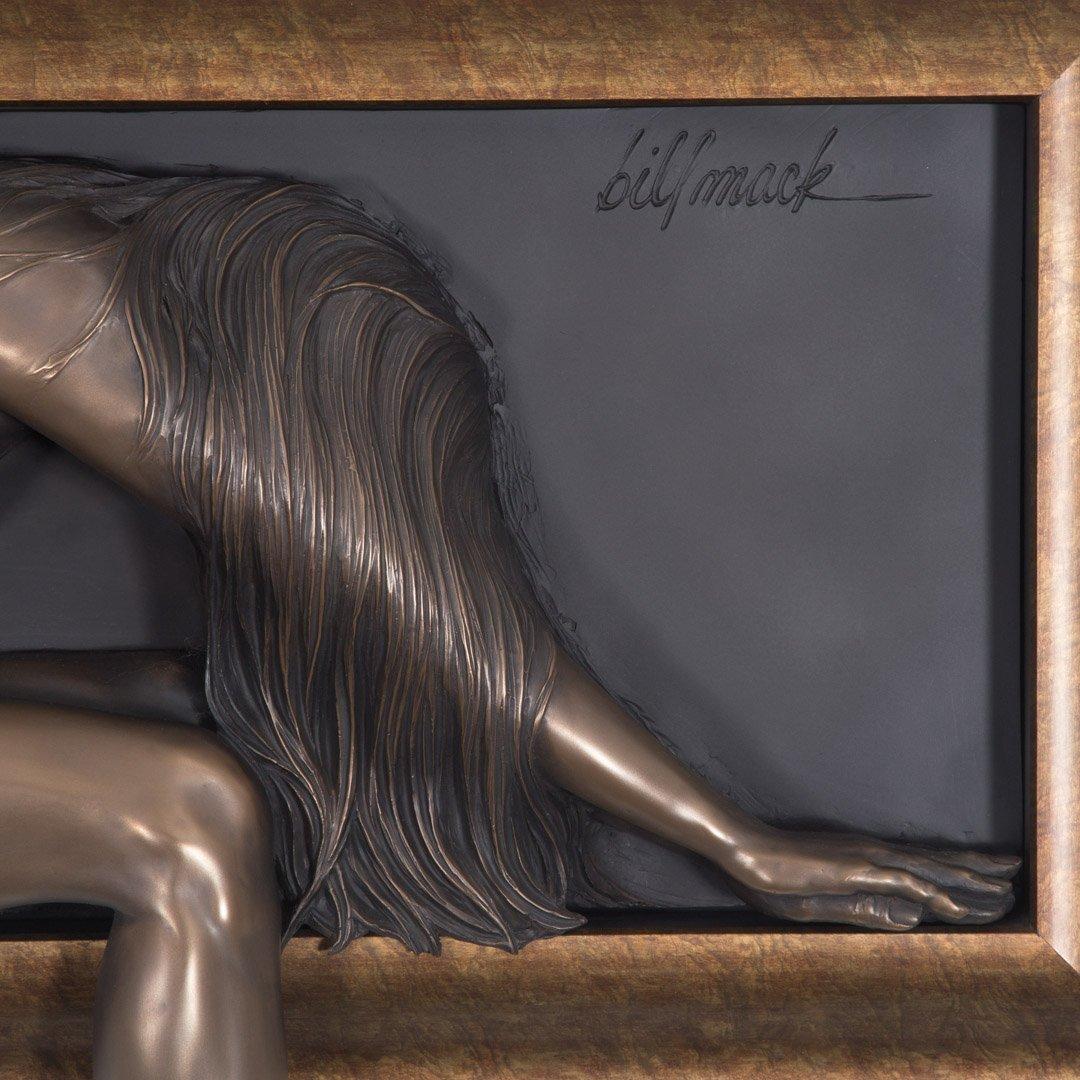 Bill Mack. Elusive, bonded bronze relief sculpture - 2