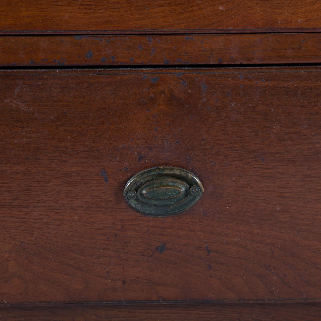 Federal walnut chest of drawers - 2