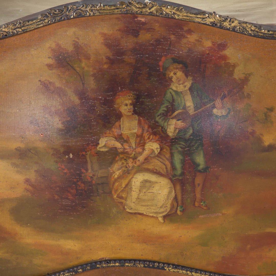 Louis XV style Vernis Martin curio cabinet - 2