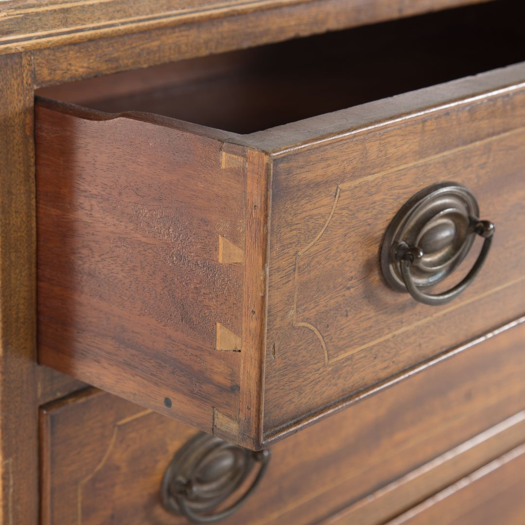 Potthast Federal style mahogany chest of drawers - 3