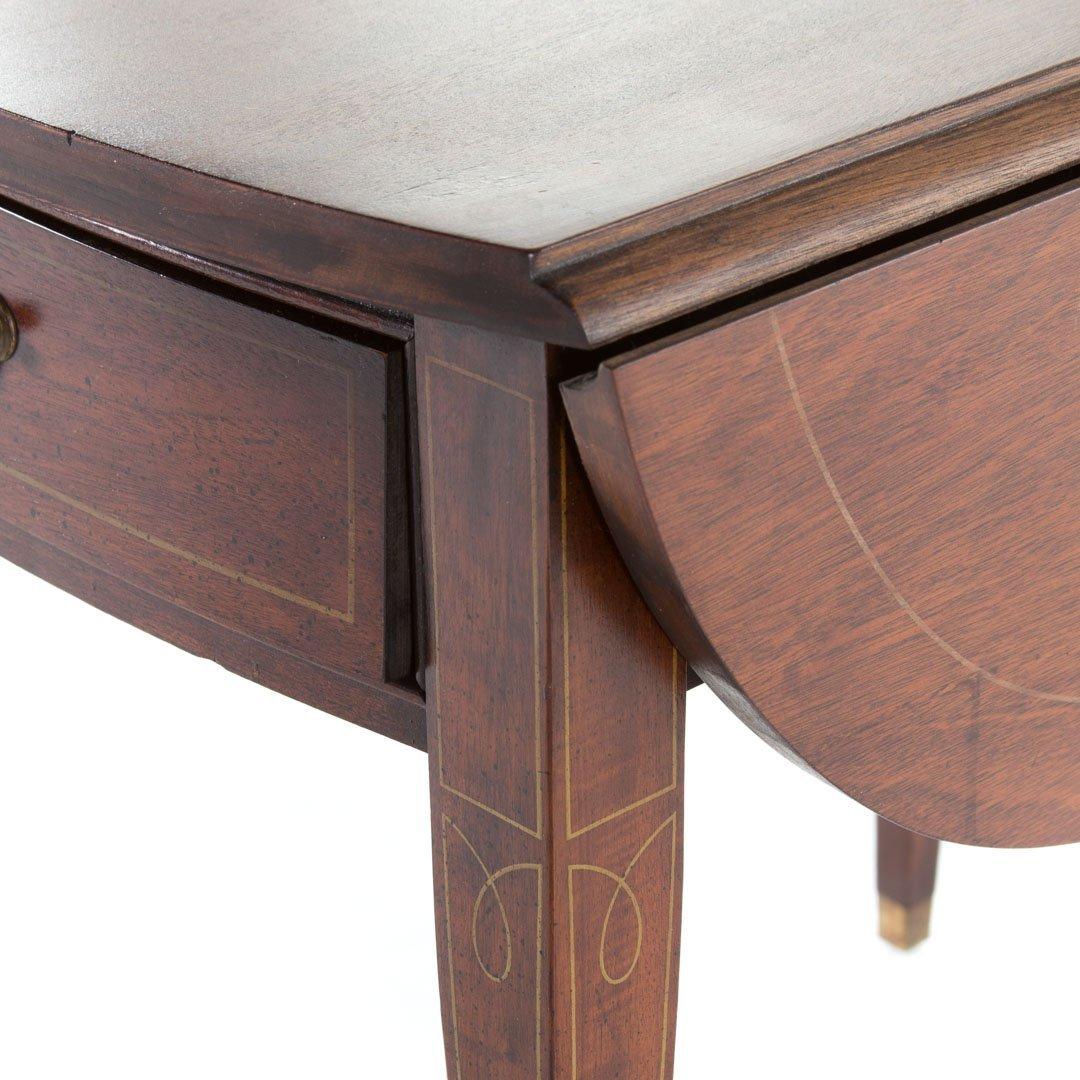 Pair of Fallon & Hellen mahogany pembroke tables - 3