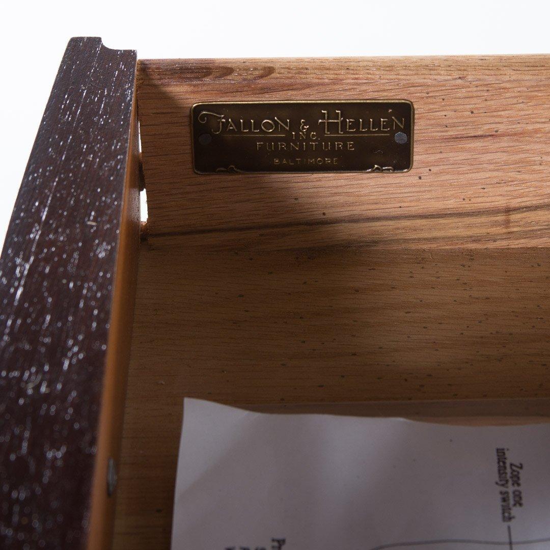 Pair of Fallon & Hellen mahogany pembroke tables - 4