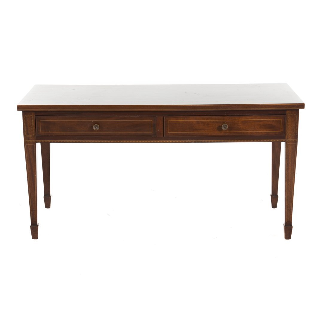 Potthast Bros. Federal style mahogany coffee table