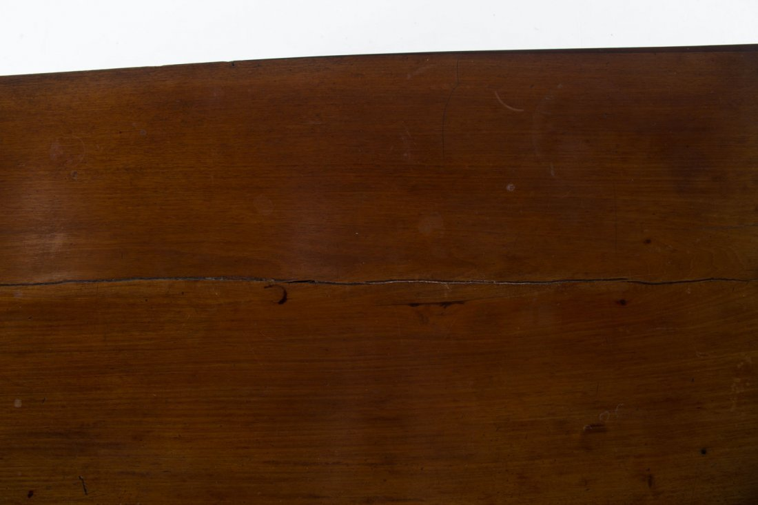 Federal mahogany bow front chest of drawers - 5