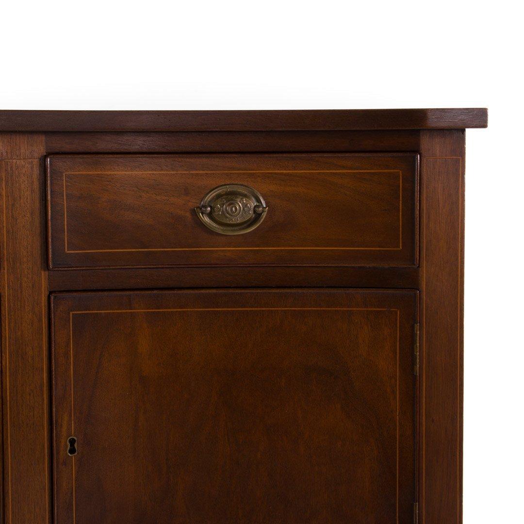 Federal style inlaid mahogany sideboard - 2