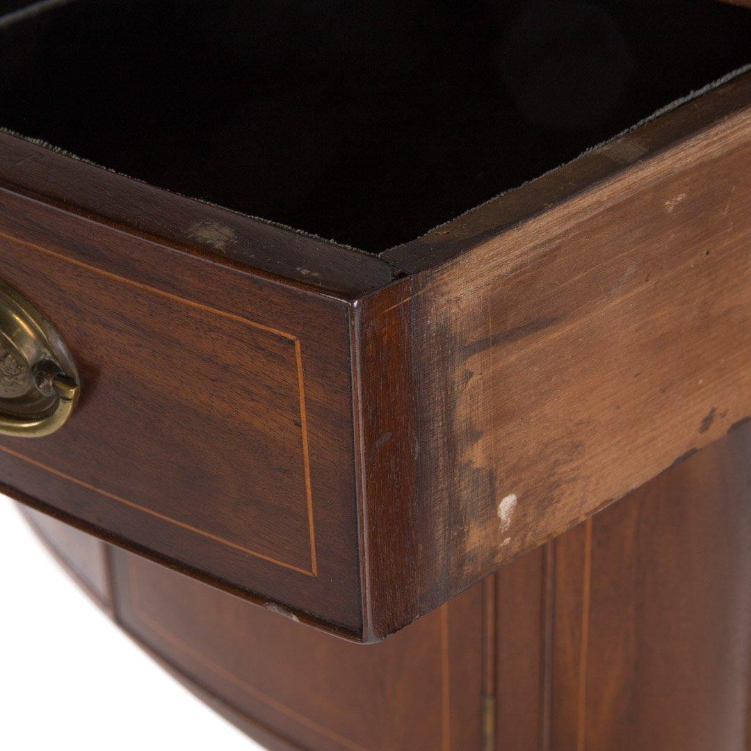 Federal style inlaid mahogany sideboard - 3