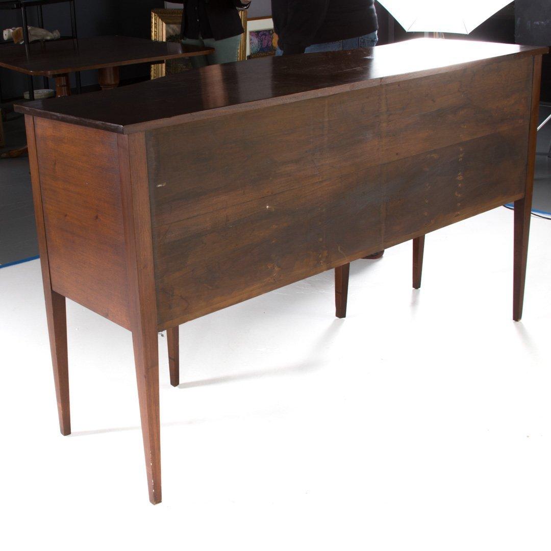 Federal style inlaid mahogany sideboard - 4