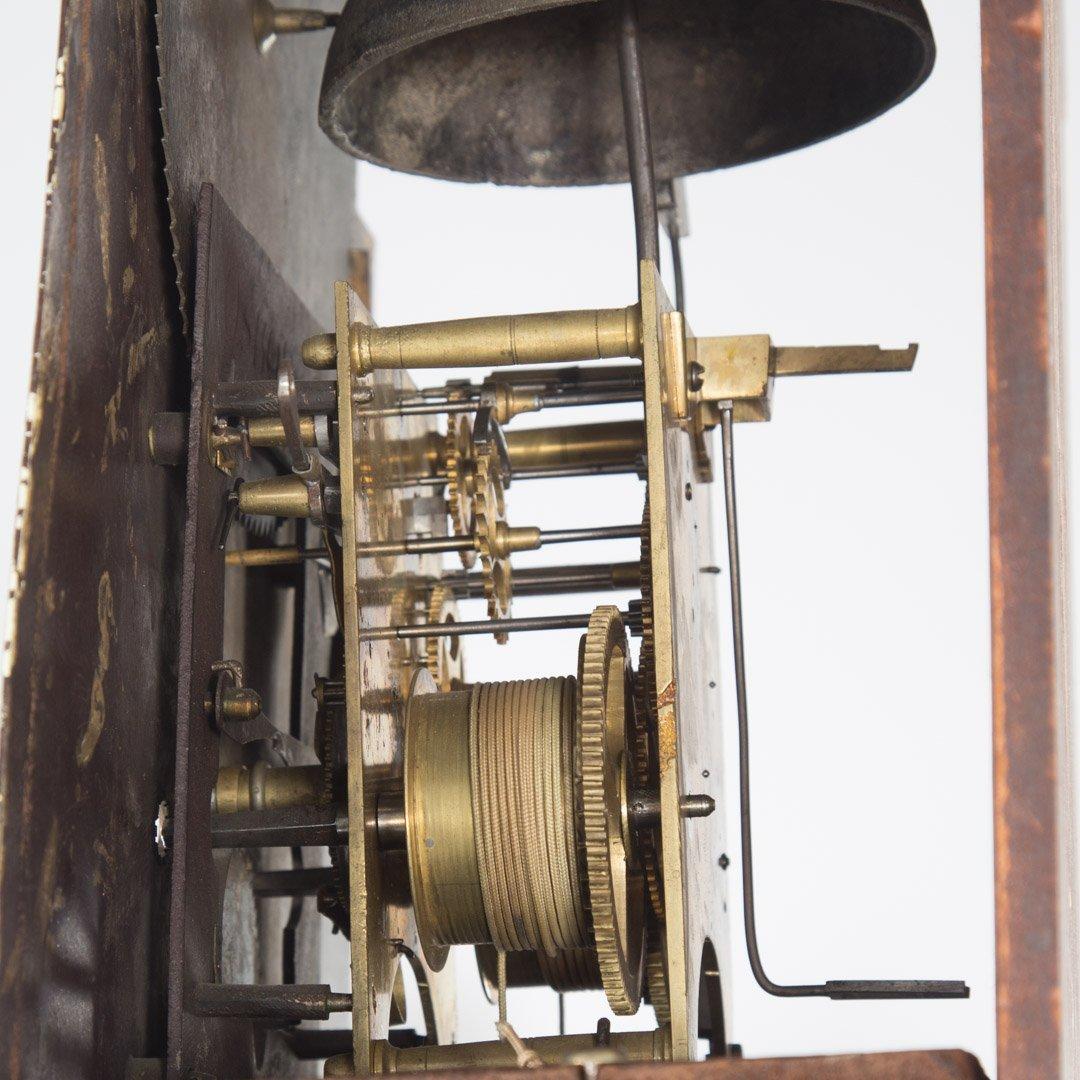 Federal inlaid mahogany tall-case clock - 4