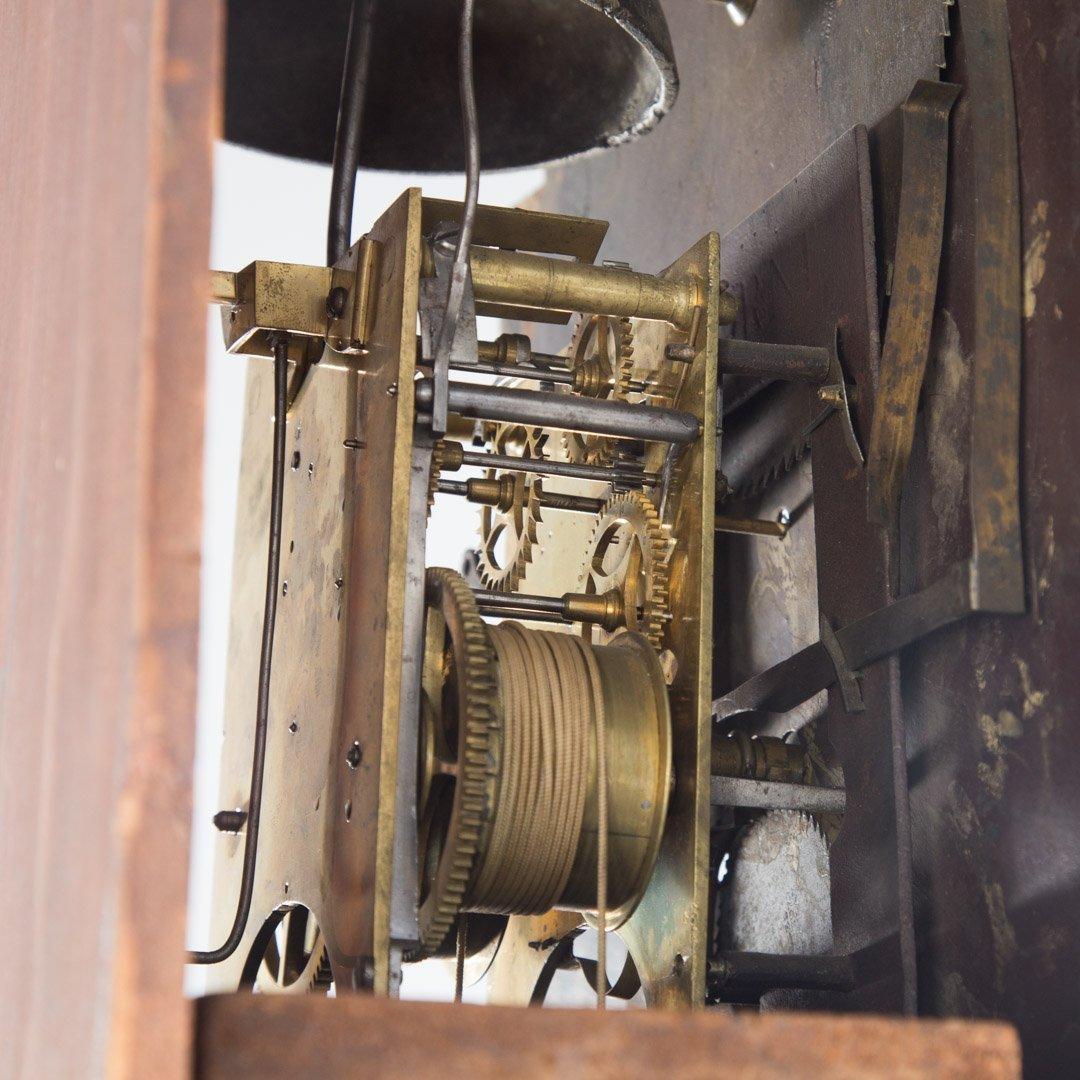 Federal inlaid mahogany tall-case clock - 5