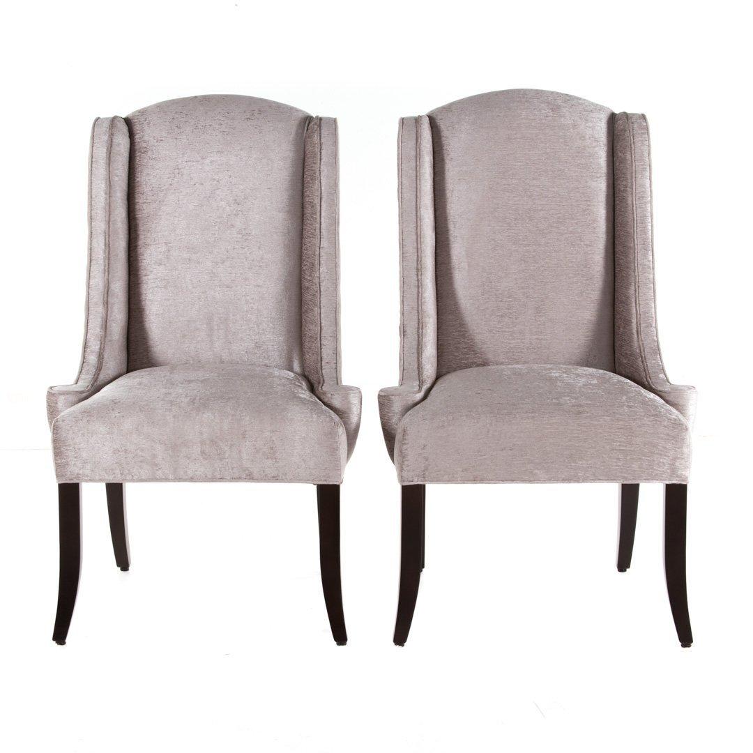 Pr. Designmaster Furniture upholstered chairs