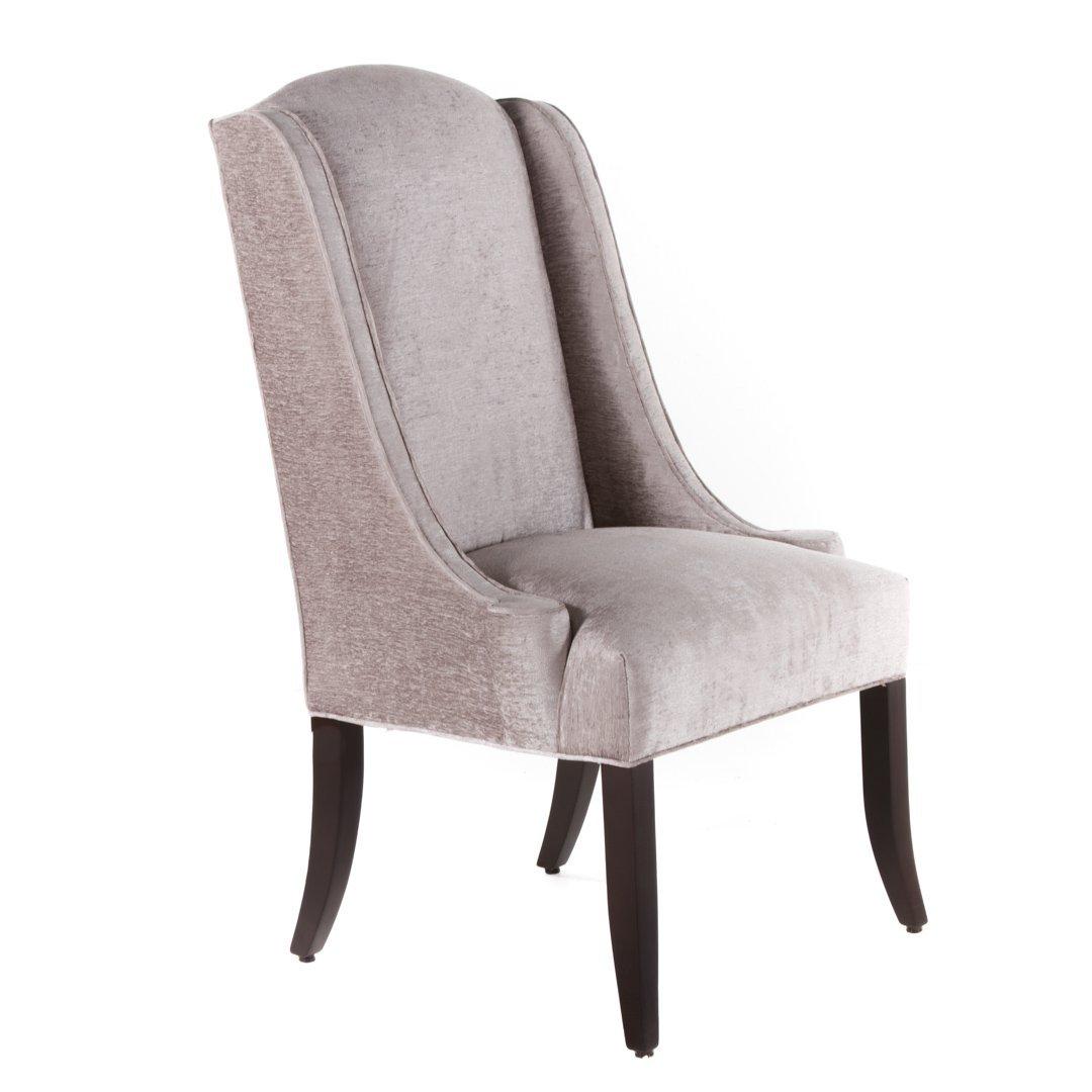 Pr. Designmaster Furniture upholstered chairs - 2