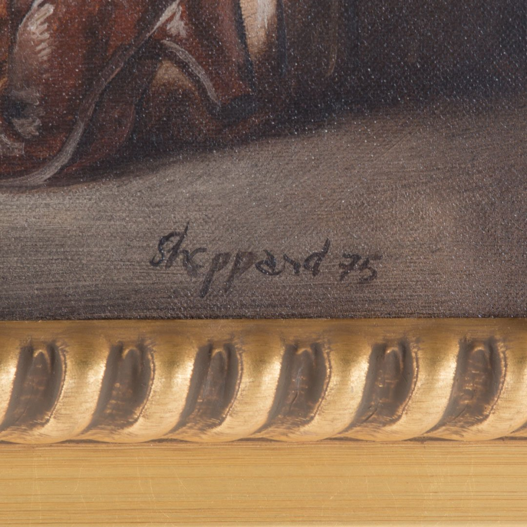 Joseph Sheppard. Woman in Doorway, oil on canvas - 3