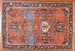 Persian Bahktiari rug, approx. 7 x 10.5