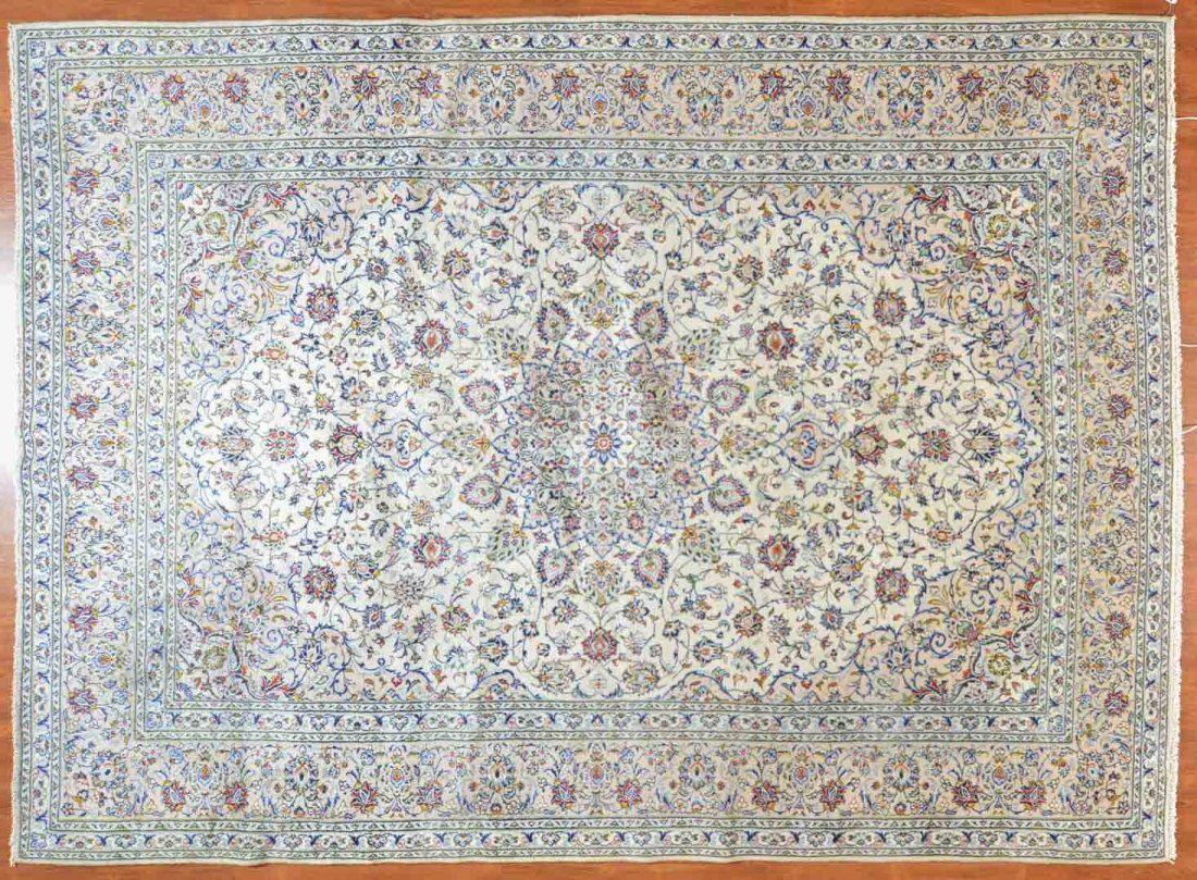 Persian Keshan carpet, approx. 9.6 x 13