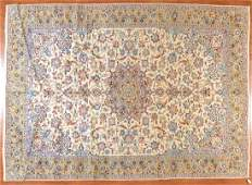 Persian Keshan carpet approx 10 x 13