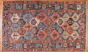 Antique Bahktiari rug, approx. 6.9 x 10.10