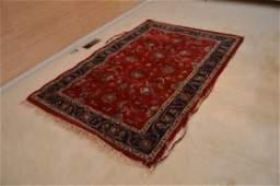 Hamadan Hand Knotted Wool Persian Area Rug Iran