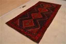 Hamadan 1960's Hand Knotted Handmade Persian Rug