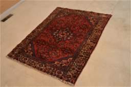 Hamadan 1940's Hand Knotted Handmade Persian Rug