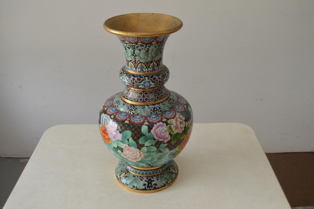 "20.5"" Tall Decorative Chinese Asian Vase"